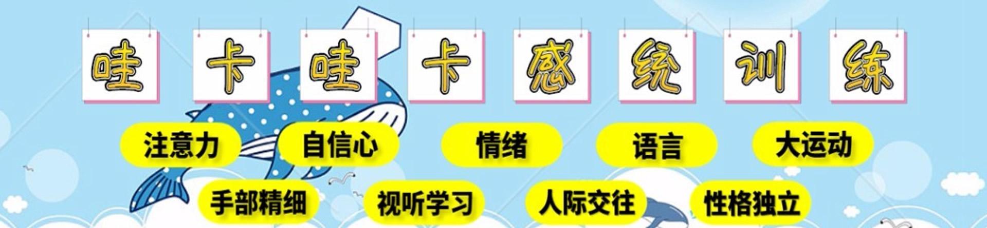 郑州哇卡哇卡感统训练中心