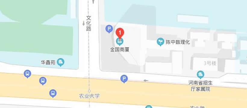 郑州小龙人辅导金国商厦校区地址