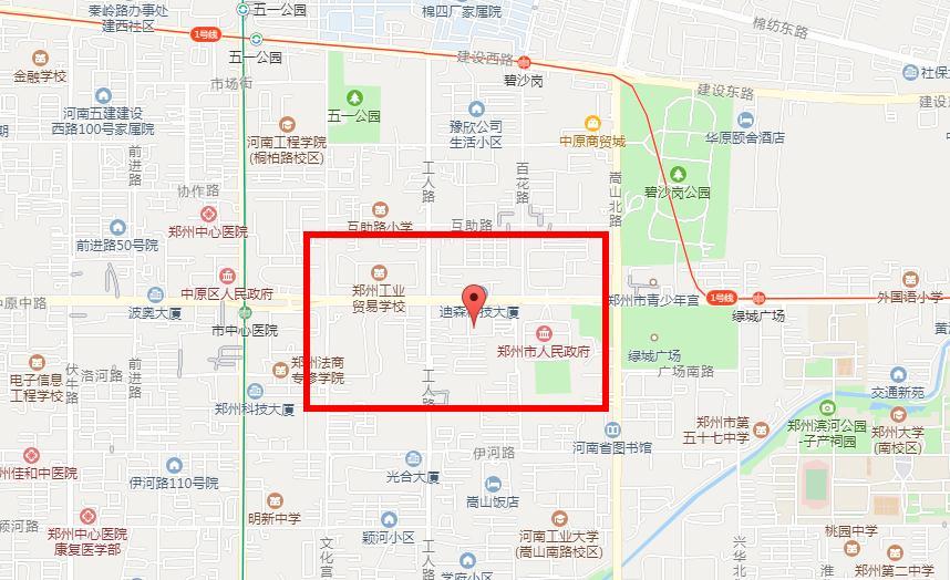 郑州啄木鸟教育裕达校区地址