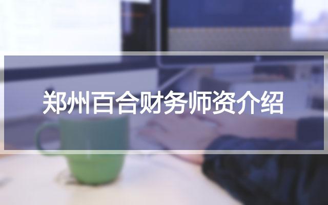 郑州百合财务师资介绍