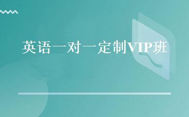 英语一对一定制VIP班