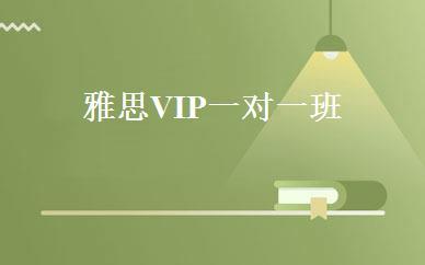 雅思VIP 一对一班