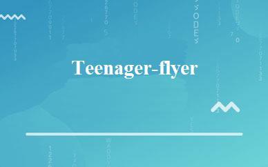 Teenager-flyer一对一量身定制4~6级班