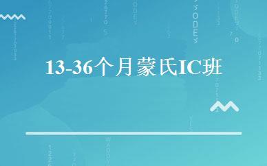 13-36个月蒙氏IC班