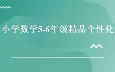 天津小学辅导哪家好,多少钱_小学数学5-6年级精品个性化班 _天津老师好教育