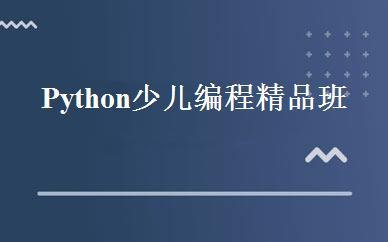 Python少儿编程精品班
