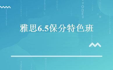 雅思6.5保分特色班