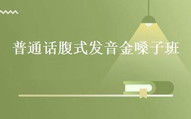 上海汉语哪家好,多少钱_普通话腹式发音金嗓子班 _上海泽衡教育