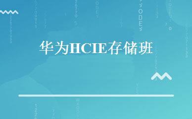 华为HCIE存储班