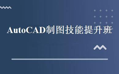 AutoCAD制图技能提升班