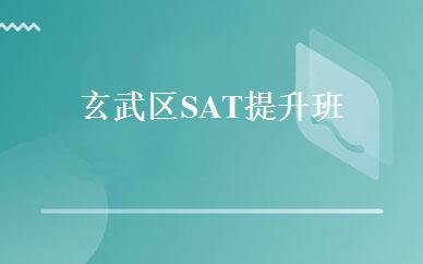 玄武区SAT(SAT可以自学吗)