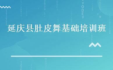 延庆县肚皮舞基础培训班