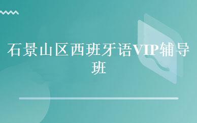 石景山区西班牙语VIP辅导班