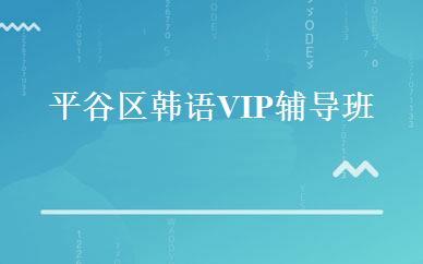 平谷区韩语VIP辅导班