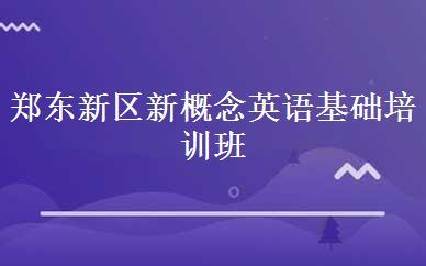 郑东新区新概念英语(新概念英语等级考试同时可以报多个级别吗)