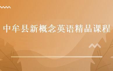 中牟县新概念英语精品课程