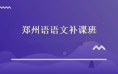 郑州语语文补课班