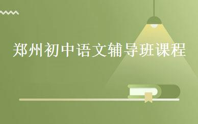 郑州初中语文辅导班课程