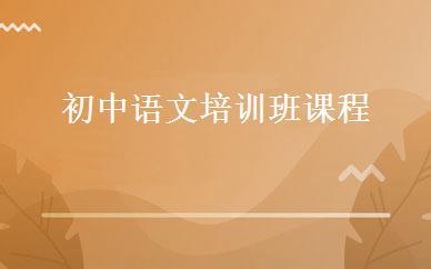 初中语文培训班课程