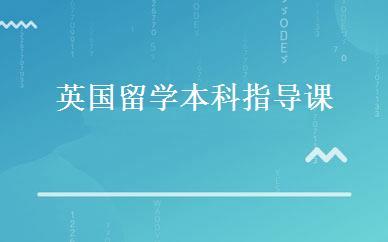 北京朝阳区英国留学本科指导课怎么样