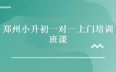 郑州小升初辅导培训哪家好,多少钱_郑州小升初一对一上门培训班课程-郑州新东昊教育