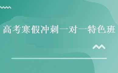 郑州高考辅导培训哪家好,多少钱_高考寒假冲刺一对一特色班-郑州大之文教育